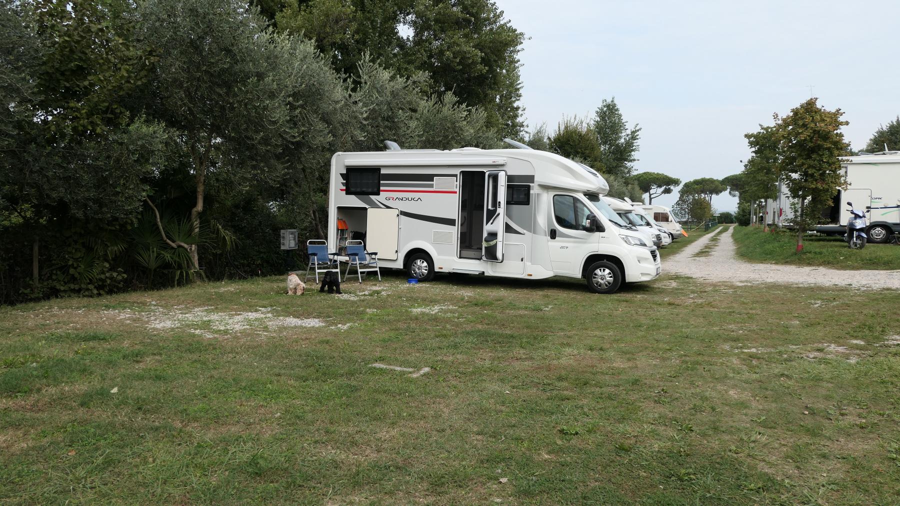 Stellplatz am Lago di Garda